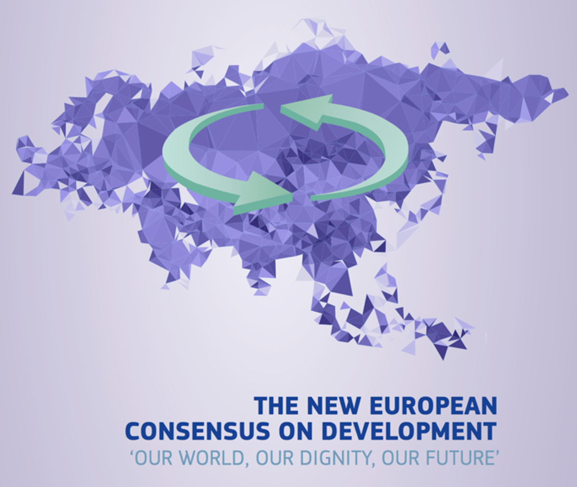 Cover of the New European Consensus on Development